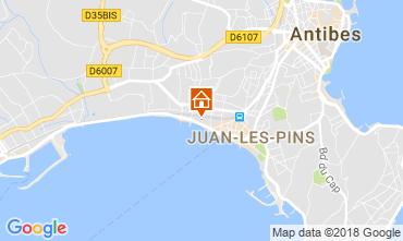 Karte Juan les Pins Appartement 10385