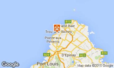 Karte Trou-aux-biches Studio 28606