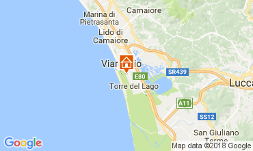 Karte Viareggio Mobil-Home 113064
