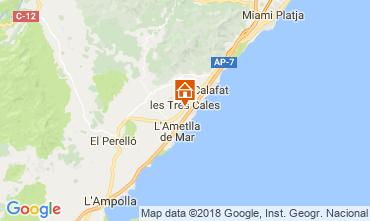 Karte La Ametlla de Mar Villa 46315