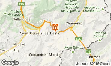 Karte Les Houches Studio 62468