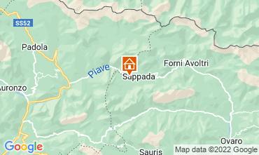 Karte Sappada Appartement 80908