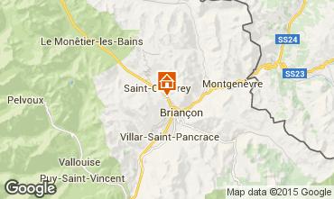 Karte Brian�on Appartement 80698