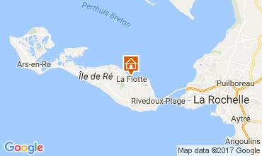 Karte La Flotte en Ré Villa 107831