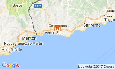 Karte Ventimiglia Bungalow 110570