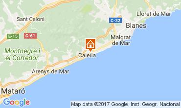 Karte Calella de Mar Appartement 111108