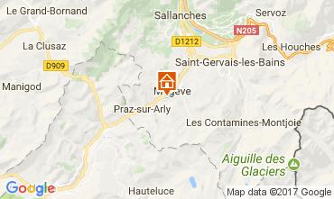 Karte Megève Chalet 112260