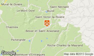 Karte Besse et Saint Anastaise Chalet 3837