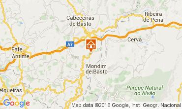 Karte Celorico de Basto Ferienunterkunft auf dem Land 64269