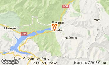Karte Les Orres Chalet 74692