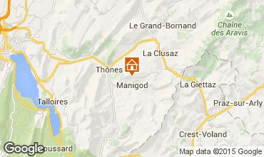 Karte La Clusaz Chalet 81466