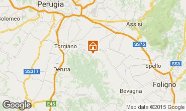 Karte Bettona Villa 95111