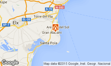 Karte Santa Pola Appartement 56526