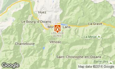 Karte Les 2 Alpes Studio 66132