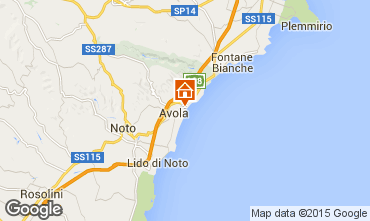 Karte Avola Appartement 43259