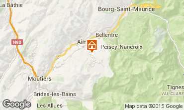 Karte La Plagne Chalet 65260