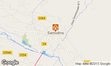 Karte Samoëns Appartement 80128