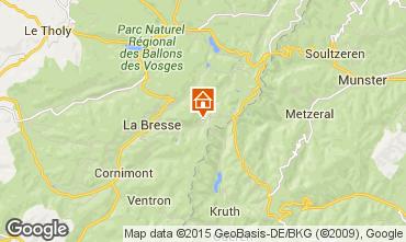 Karte La Bresse Appartement 99262