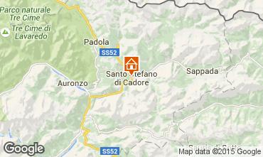 Karte Santo Stefano di Cadore Appartement 80005