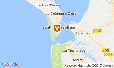 Karte Saint-Trojan-les-Bains Villa 51822