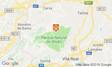 Karte Vila Real Ferienunterkunft auf dem Land 114765