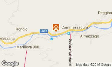 Karte Commezzadura Appartement 93308