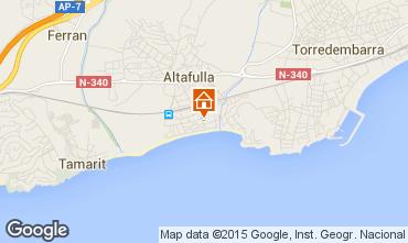 Karte Tarragona Appartement 8176