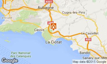 Karte La Ciotat Villa 5926