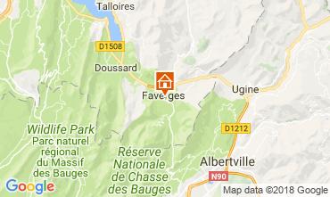 Karte Annecy Appartement 115485