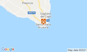 Karte Santa Maria di Leuca Appartement 65510