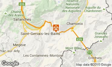 Karte Chamonix Mont-Blanc Studio 65387