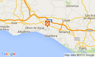 Karte Vilamoura Haus 105518
