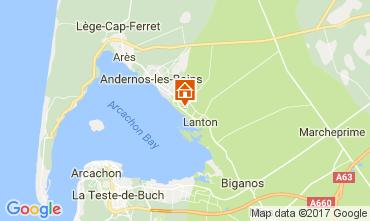 Karte Andernos les Bains Villa 111085