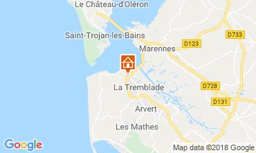 Karte Ronce-les-Bains Mobil-Home 95159