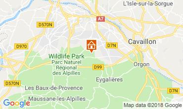 Karte Saint Rémy de Provence Ferienunterkunft auf dem Land 98340