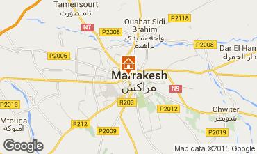 Karte Marrakesch Appartement 51678