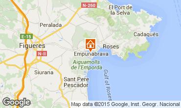 Karte Empuriabrava Haus 68928