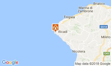 Karte Capo Vaticano Villa 113093
