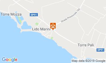 Karte Lido Marini Appartement 118497