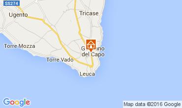 Karte Santa Maria di Leuca Appartement 105016