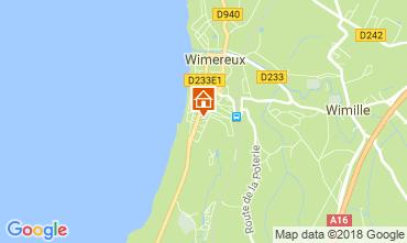 Karte Wimereux Studio 24874