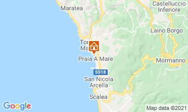 Karte Praia a Mare Appartement 95625