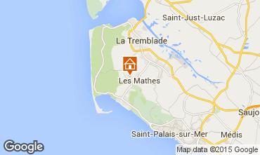 Karte La Palmyre Mobil-Home 101256