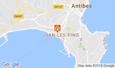 Karte Juan les Pins Appartement 115243