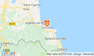 Karte Collioure Appartement 110772