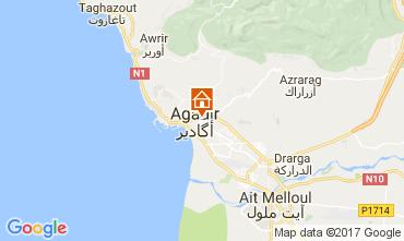 Karte Agadir Studio 26777