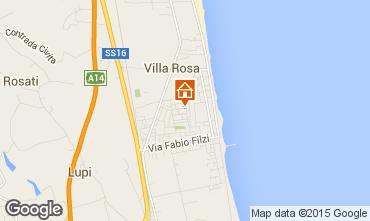 Karte Alba Adriatica Villa 42663