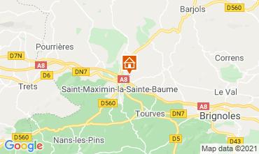 Karte Saint Maximin la Sainte Baume Villa 112385