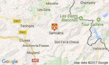 Karte Samoëns Studio 112473