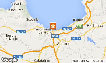 Karte Castellammare del Golfo Villa 94839